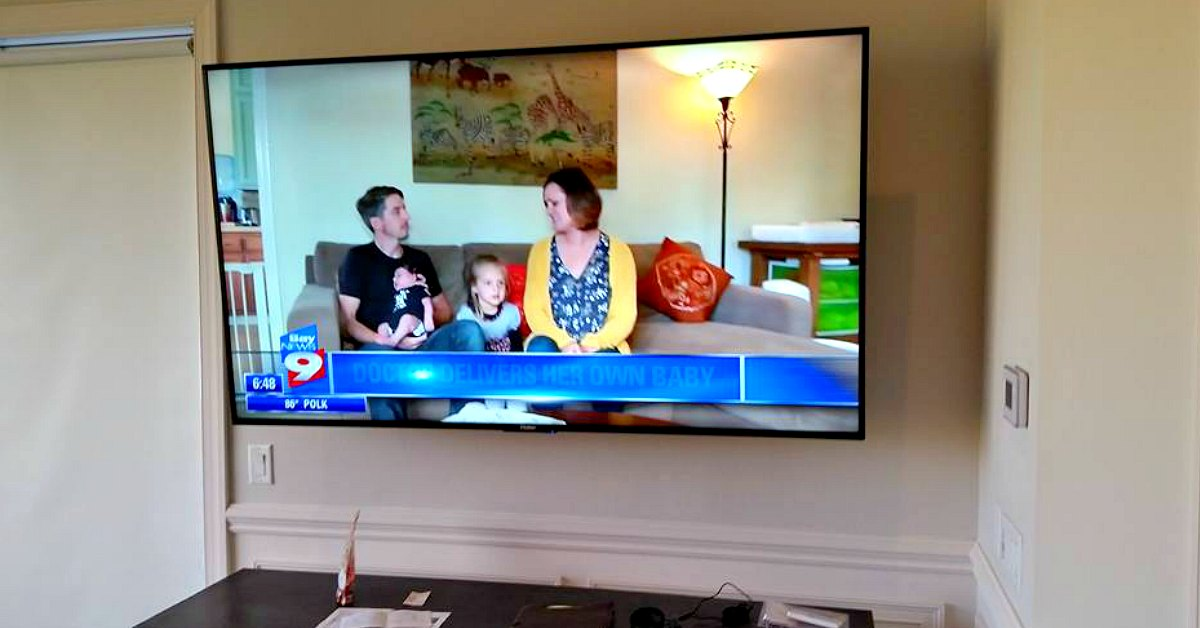 Hidden Wiring TV Installation Deal Offered by Suncoast ... on