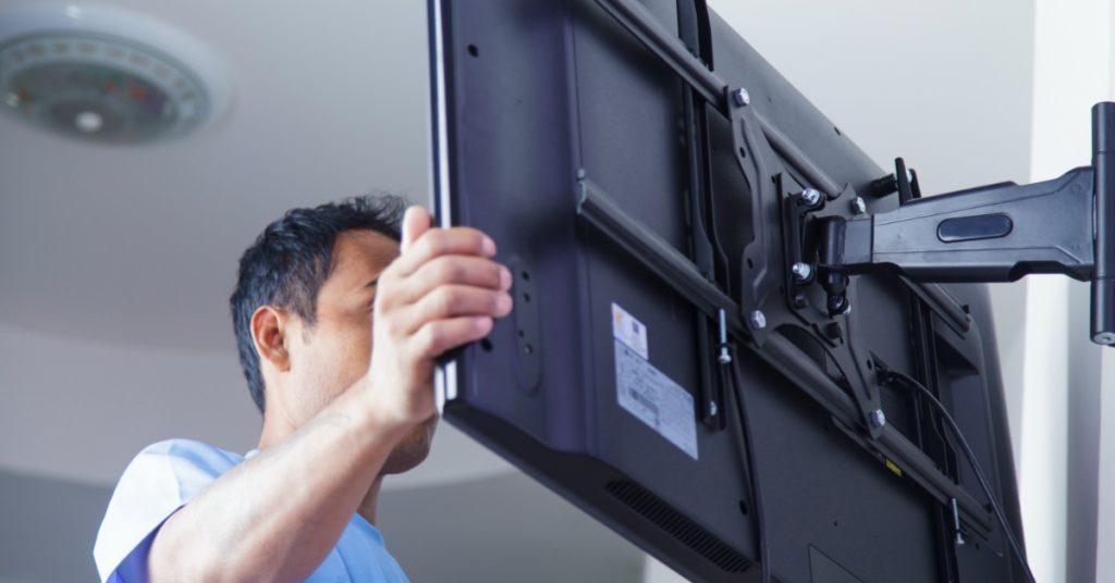 flat TV installation service