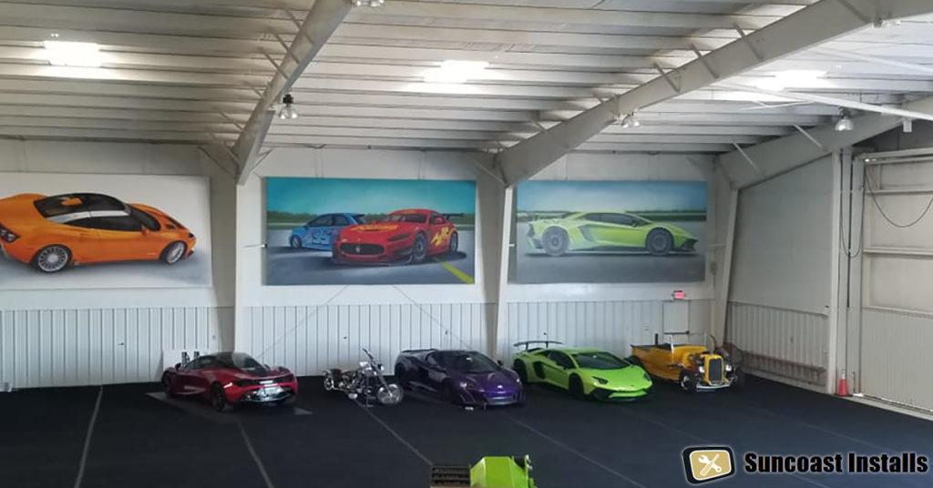 Tampa art installer